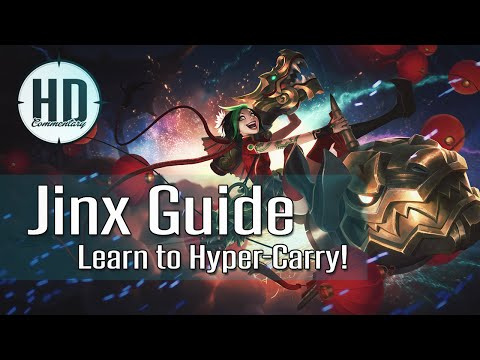 Jinx Guide Season 5 - Learn to Hyper-Carry - Runes, Masteries, Item Build - League of Legends