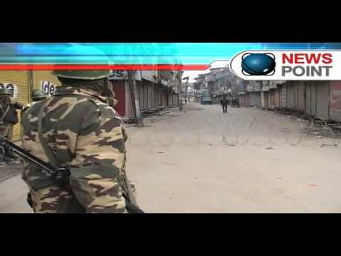 Third day of curfew like restrictions in Kashmir