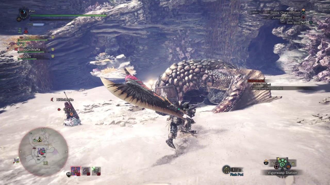 Monster Hunter World Bazelgeuse 1300 Damage True Charge