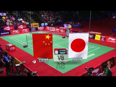 2014 Uber Cup Final China vs Japan Li Xuerui vs Minatsu Mitani