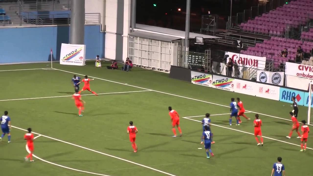 Home United FC 3-1 Harimau Muda B