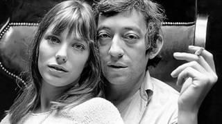 Serge Gainsbourg e Jane Birkin em Je t'aime