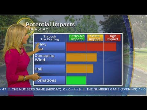 WBZ Morning Forecast For July 13