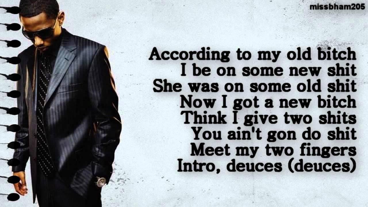 deuces remix ft drake lyrics