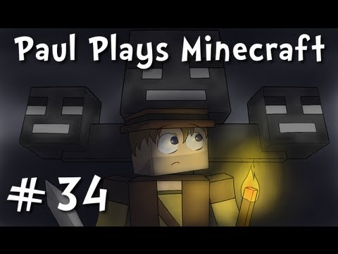 "Paul Plays Minecraft - E34 ""Chill Caving"" (Solo Survival Adventure)"