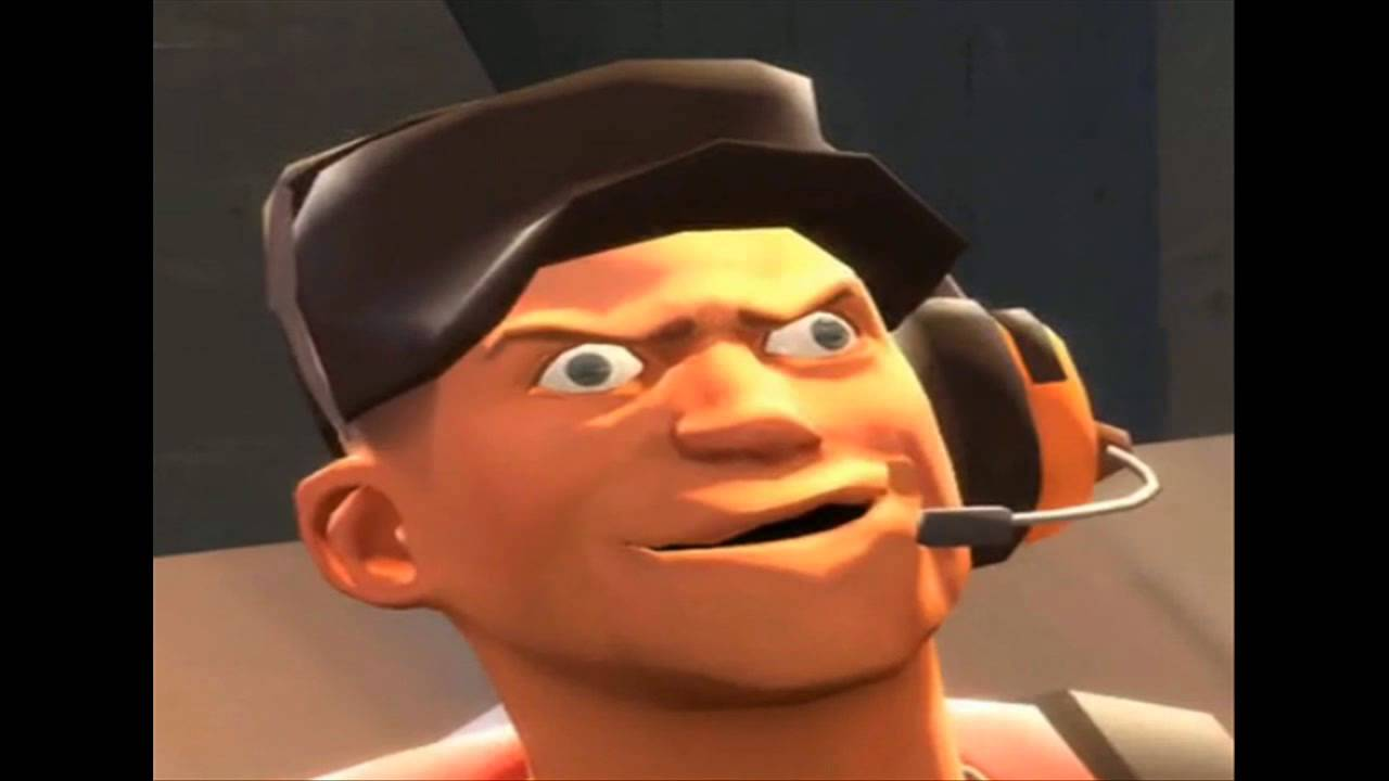 TF2 Scout Derp Face