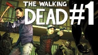 The Walking Dead Episode 1: A New Day #1 Let's Play