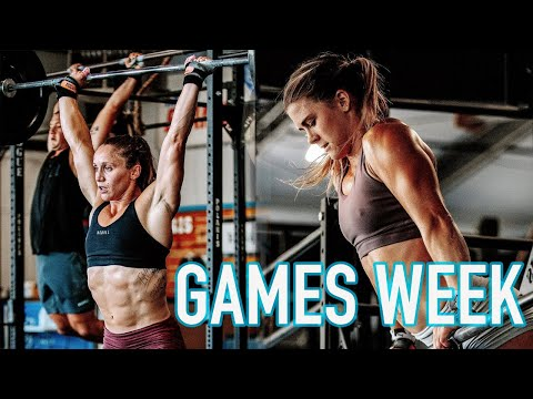 CROSSFIT GAMES TRAINING WITH ALISON SCUDDS
