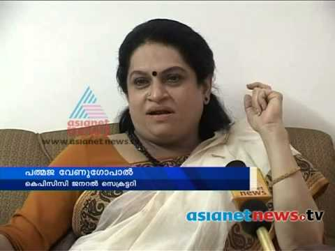 Kerala Election 2014 : Padmaja Venugopal start campaign for congress candidate in Thrissur