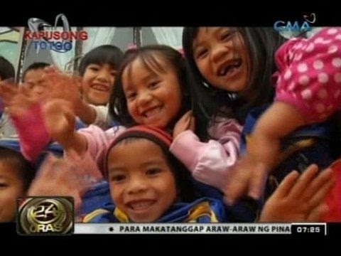 Kabayanihan at determinasyon ng ilang estudyante, nasaksihan ng GMA Kapuso Foundation