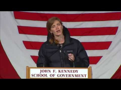 2014 Commencement: Ambassador Samantha Power