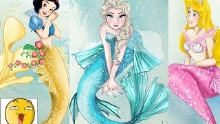 Disney Mermaids ( NEW 2014 )