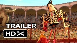 Book of Life Official Trailer #1 (2014) - Channing Tatum, Zoe Saldana Animated Movie HD