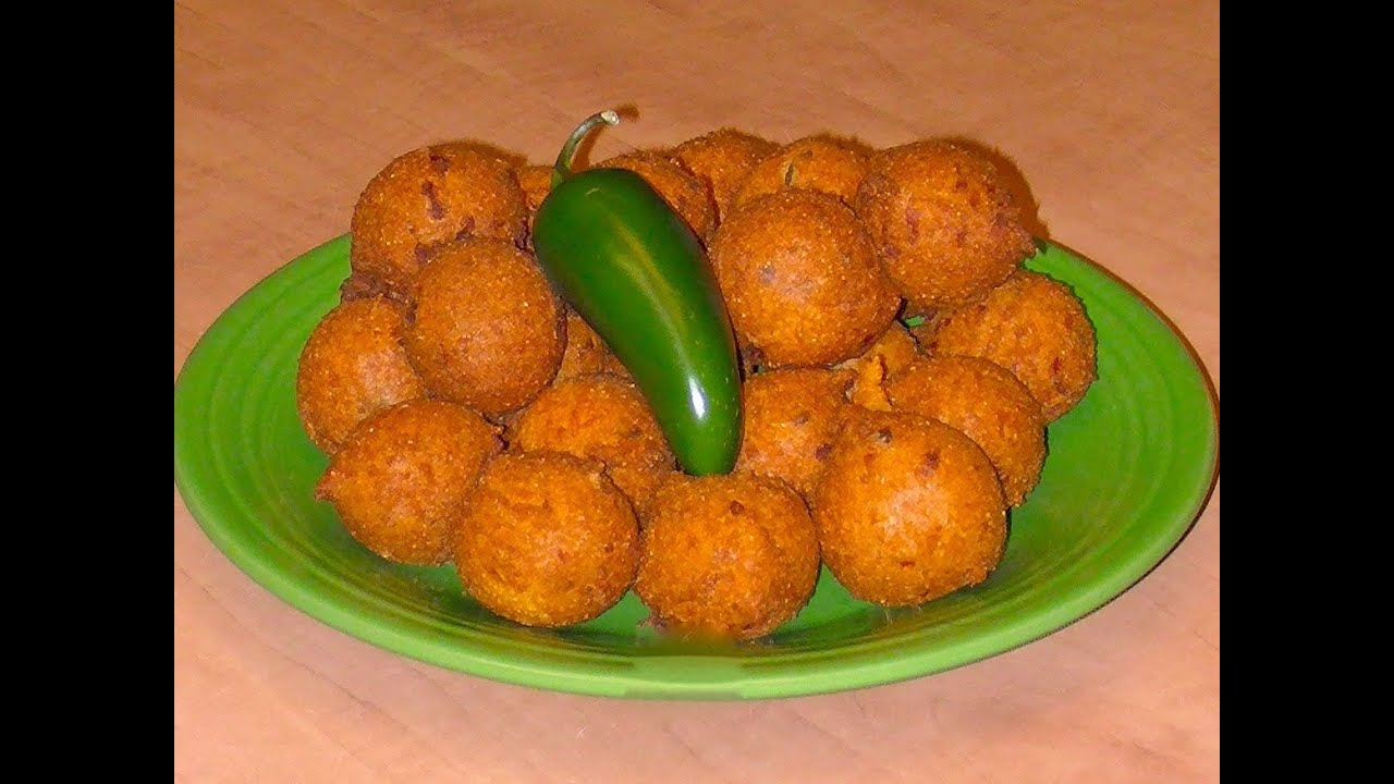 Hush Puppies - Recipe - YouTube