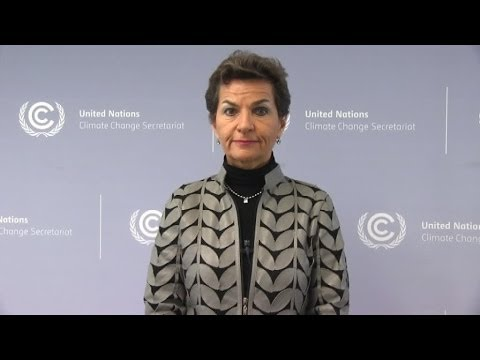 Christiana Figueres on the UNFCCC