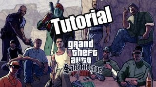 GTA San Andreas : How To Add A 100% Complete Save Game