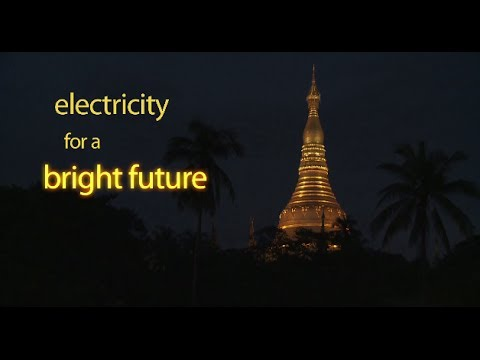 Electricity for a Bright Future in Myanmar