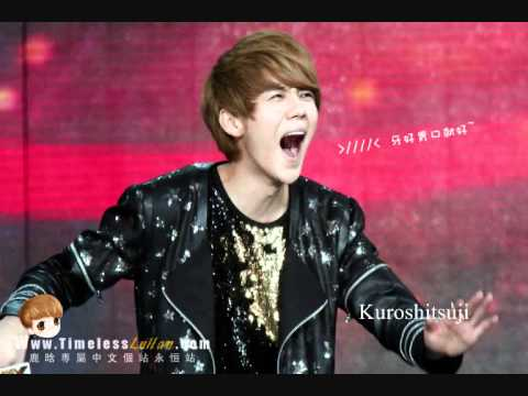 EXO-M Luhan is laughing way too much!