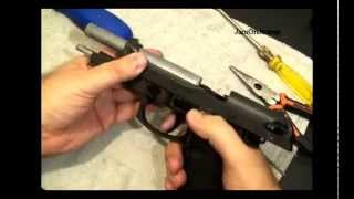 How To Replace An Airsoft M9 Trigger Spring