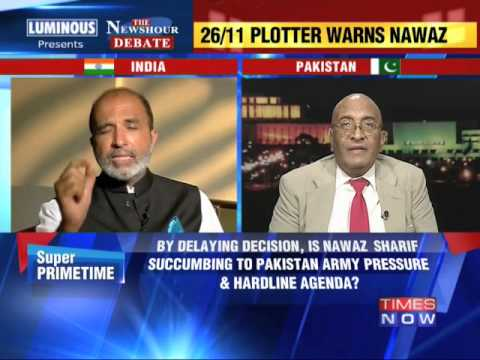 Debate: 26/11 plotter warns Nawaz Sharif - 1