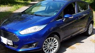 2014 Ford Fiesta 1.0 EcoBoost Review, Full-Tour