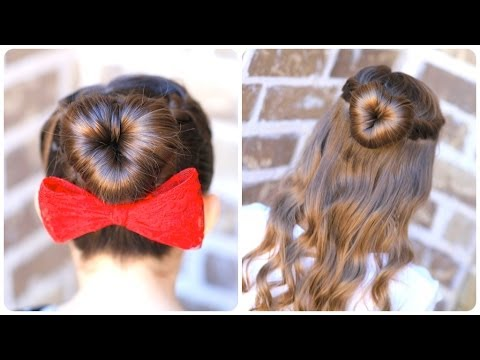 Valentine's Day Heart Hairstyles - Valentin-napi szív frizurák