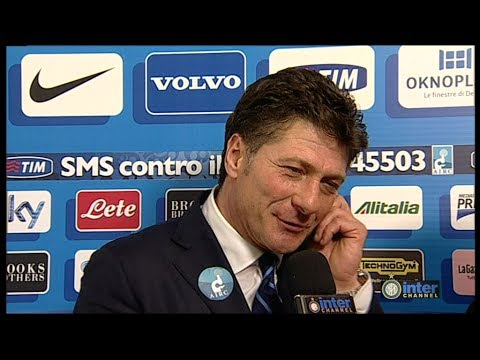 INTERVISTA WALTER MAZZARRI POST INTER-LIVORNO