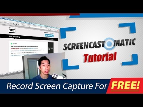 Screen Cast O Matic Tutorial