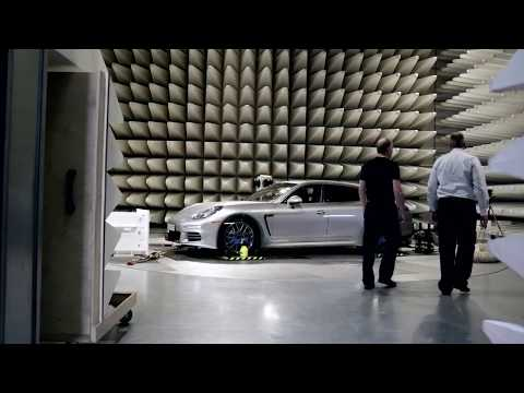 2014 Porsche Panamera Second Generation S E-Hybrid Spotlight.