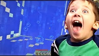 8 Year Old Jacob Playing Minecraft A NEW LIFE IN TARTA
