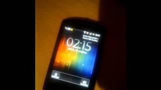 Sony Ericsson Live With Walkman Reseting