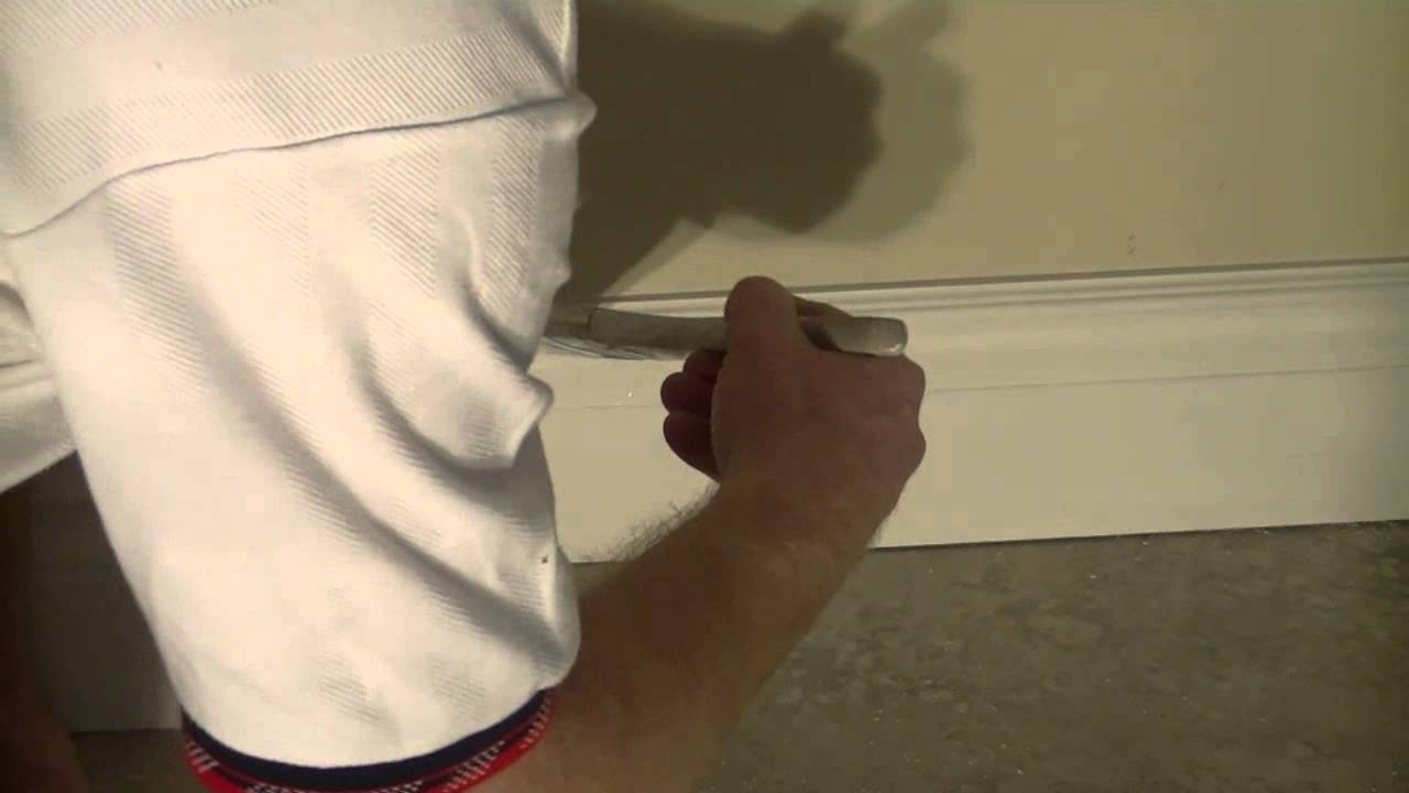 how to paint mdf baseboard youtube. Black Bedroom Furniture Sets. Home Design Ideas