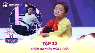 Biệt tài tí hon | tập 12: thiên tài nhảy múa 7 tuổi bé Mỹ Trâm làm Trấn Thành thích thú vì quá hay