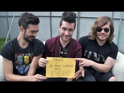 Bastille - Pompeii the UK's most streamed track of all time!