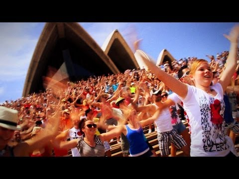Flash Mob Sydney Opera House