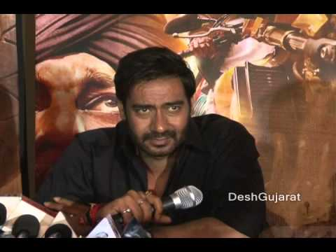 Sonakshi Sinha, Ajay Devgan interact on their Bollywood film Son Of Sardar SOS