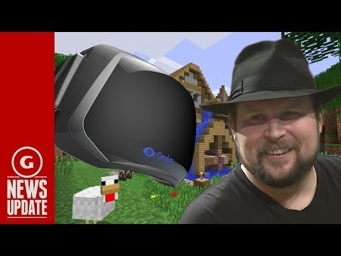Minecraft developer Notch cancels Oculus VR version of game after Facebook sale - GS News Update