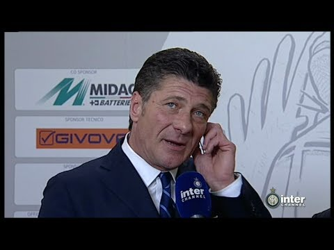 INTERVISTA WALTER MAZZARRI POST CHIEVO - INTER