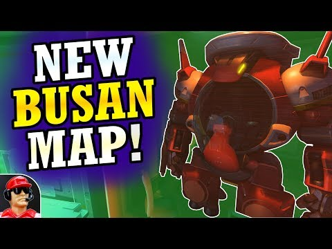 -NEW- Busan Control Map Exploration!  (New South Korea Overwatch Map)