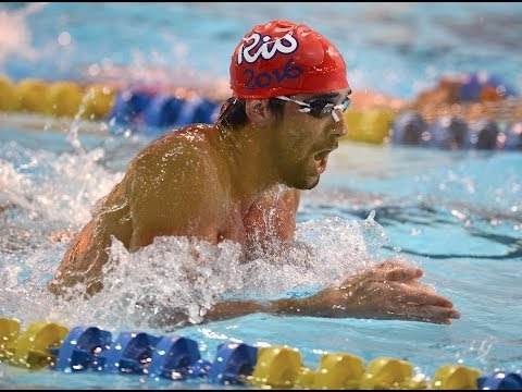 Michael Phelps in Charlotte for Arena Grand Prix