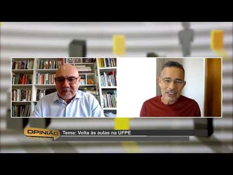 Volta das Atividades de Graduação da UFPE (21/07/2020)