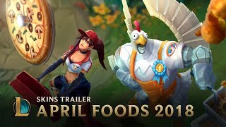 League of Legends - April Foods Skins Trailer