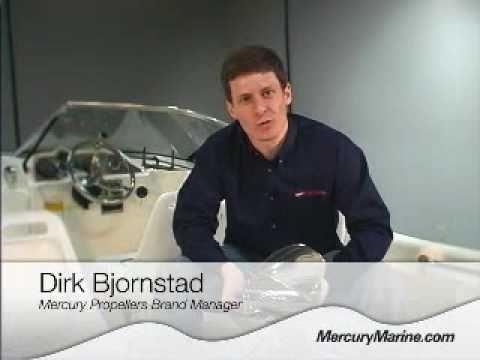 The New Mercury Fury Propeller