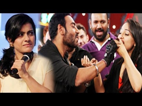 Kajol FIGHTS with Sonakshi Sinha over Ajay Devgn image