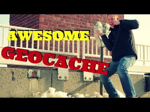 AWESOME HANGING GEOCACHE!