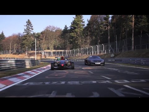 Fearsome: Noble M600 and Atom V8 at the Nurburgring - CHRIS HARRIS ON CARS