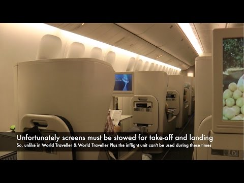 British Airways BA015: Singapore to Sydney, Australia (Club World)