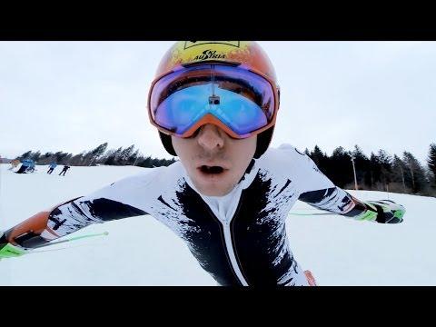 Marcel Hirscer visto da vicino con la GoPro