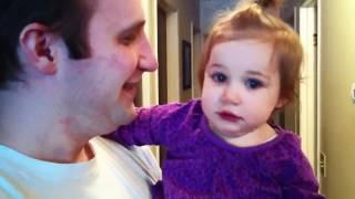 Baby Misses Dad's Beard