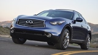 2012 Infiniti FX35 Drive and Review videos